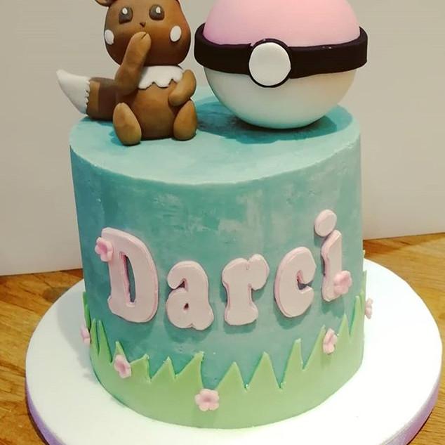 #pokemon #cake! Delicious raspberry and