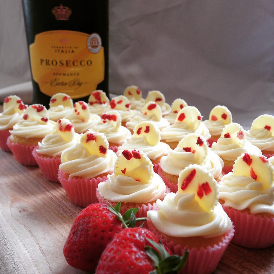 Boozy Bakers Prosecco Canapes