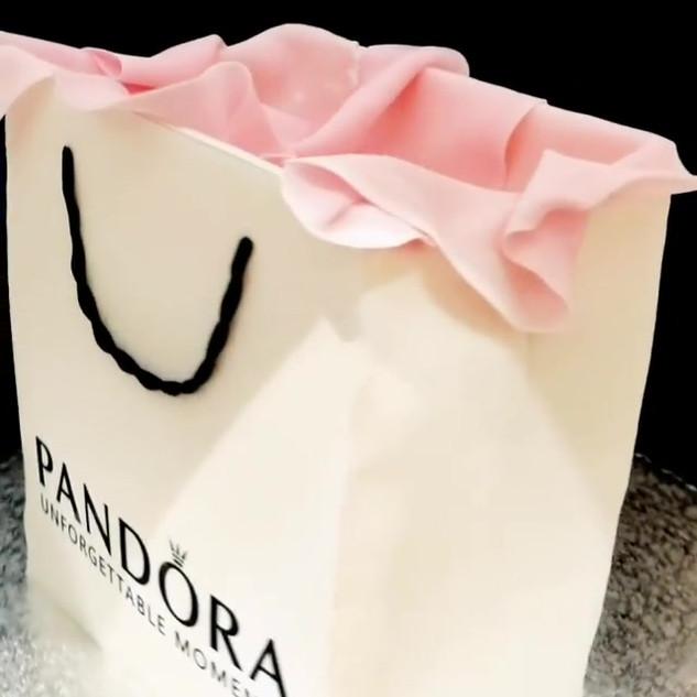 Take a peek at our #pandora bag and char