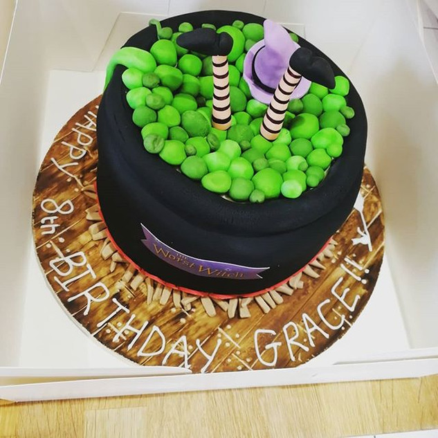 The Worst Witch Cake! So much fun to mak