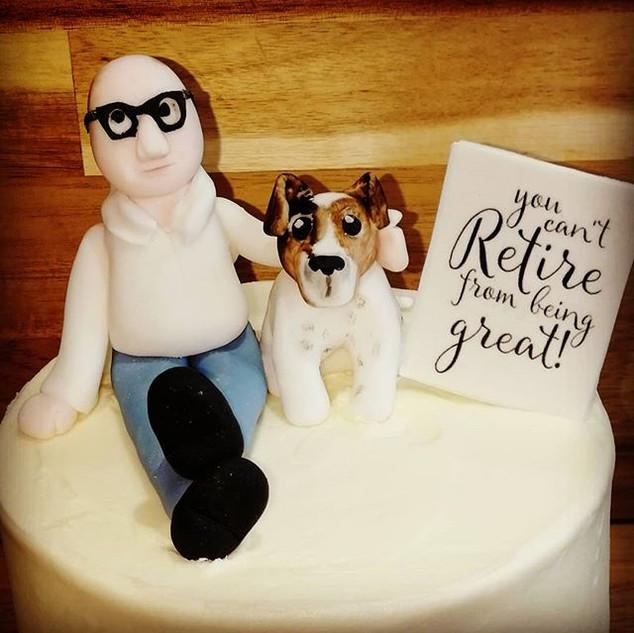 #retirement cake!! #limincello #celebrat