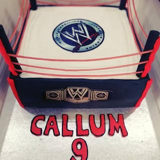 #WWE cake for Callum! #wrestlingfan.jpg