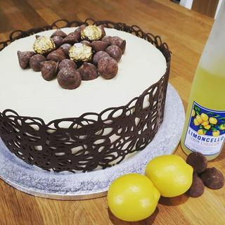 Limoncello and Dark Chocolate Celebratio