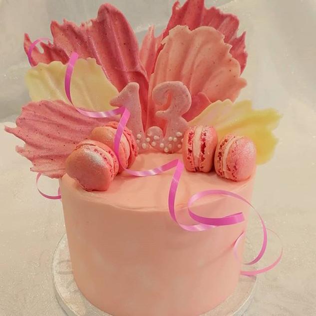 Pink pastels, chocolate and macarons.jpg