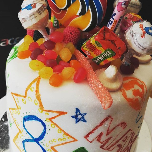 #grafitti #cake by me and my boy! Great