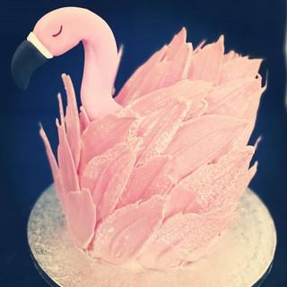 Flamingo Cake!!! A delicious Baileys Cho