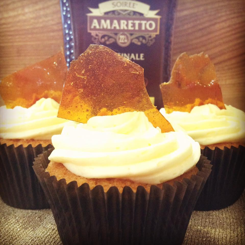 Boozy Bakers Amaretto