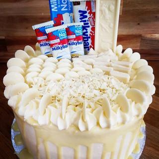 WHITE CHOCOLATE EXTRAVAGANZA!!! #milkyba