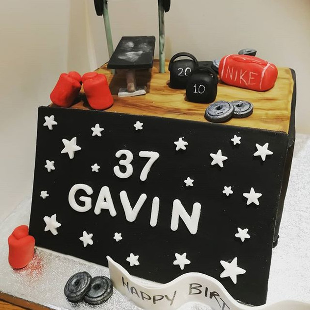 At the Gym Cake
