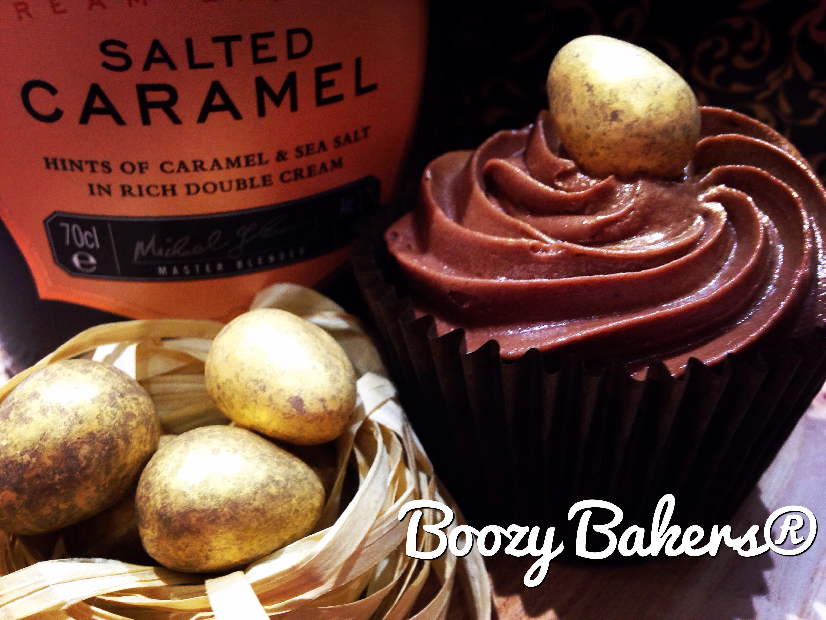 Boozy Bakers Salted Caramel and Chocolate