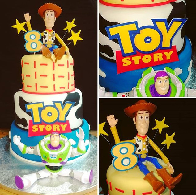 #Toystory Cake!!!! #woody #buzz.jpg