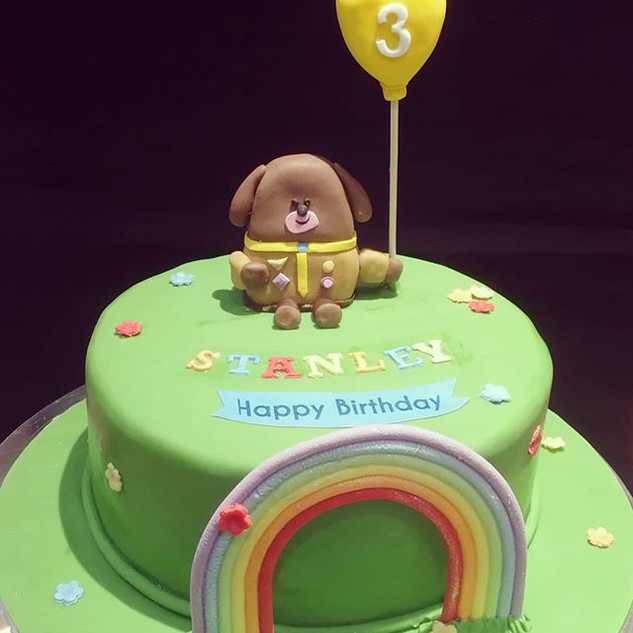 #heyduggee birthday cake for Stanley tod