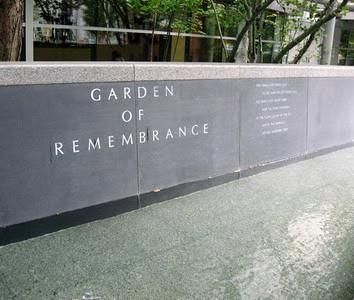 Benaroya Hall's Garden of Remembrance
