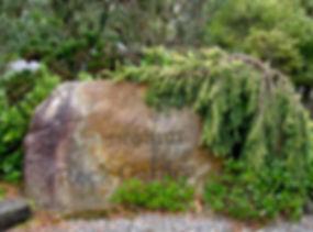 North entry to the Coenosium Rock Garden