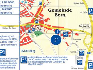 Parkplatzplan Berg ruft 2017