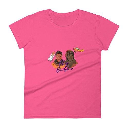 The Original Fly Girls Women's short sleeve t-shirt