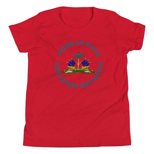 Kids Pour Les Pays Short Sleeve T-Shirt