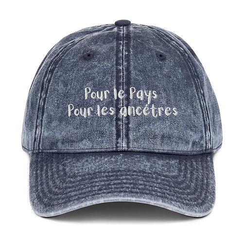 Pour Le Pays Vintage Dad Hat