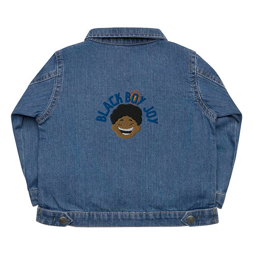 Black Boy Joy Baby Organic Jacket