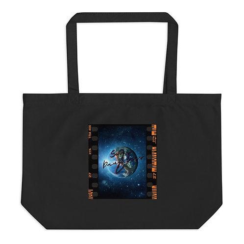 Earth Day Large organic tote bag