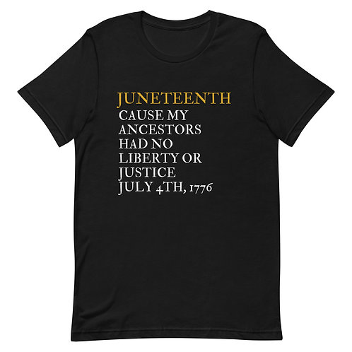 Why Juneteenth ? Short-Sleeve Unisex T-Shirt
