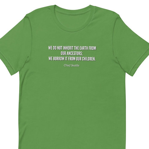 Earth Day Short-Sleeve Unisex T-Shirt