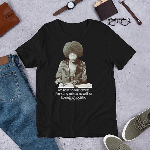 Ms. Angela Davis Short-Sleeve Unisex T-Shirt