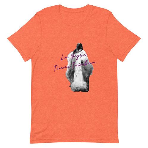 La Negra Tiene Tumbao Celia FeatherShort-Sleeve Unisex T-Shirt