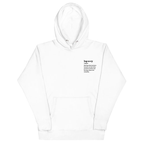 Legacy embroidered Unisex Hoodie