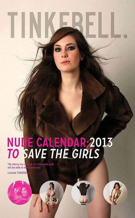 TINKEBELL - Nude Calendar 2013