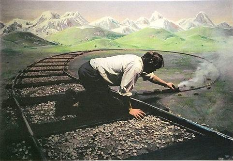 Teun Hocks - Untitled (model train), 1996