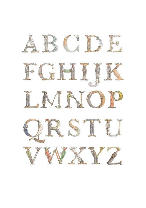 Teun Hocks - ABC print
