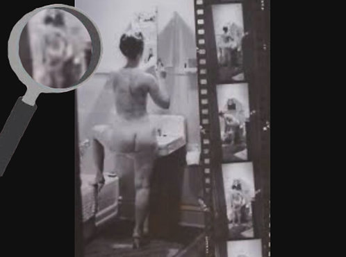 Raul Marroquin - Nudes and Naked: Simone de Beauvoir