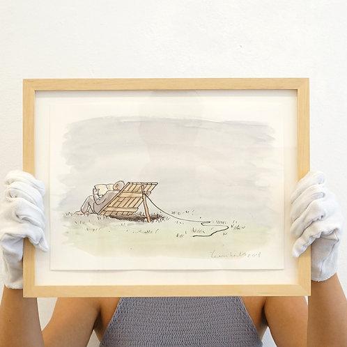 Teun Hocks- Drawing (animal trap)