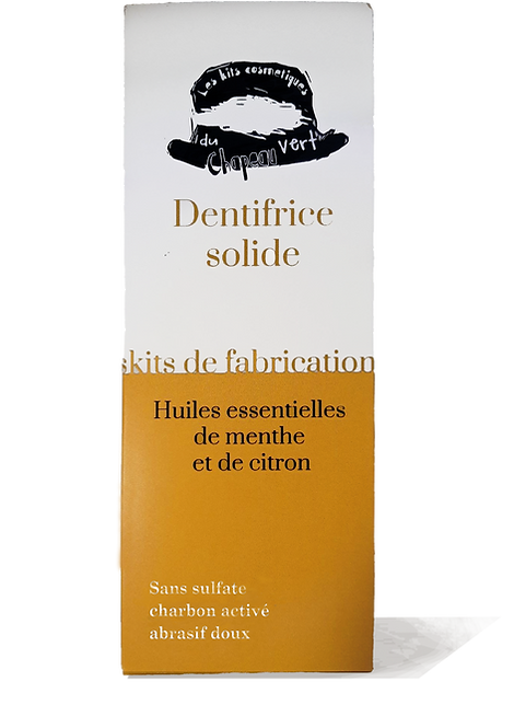 kit dentifrices solides