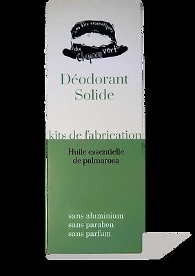 kit déodorants solides
