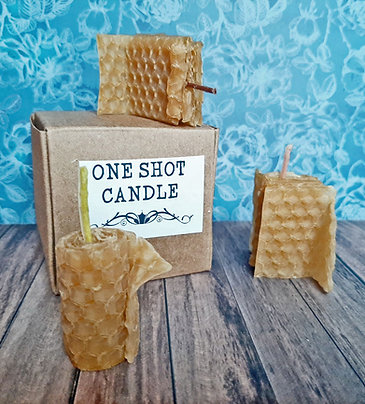 one shot candle
