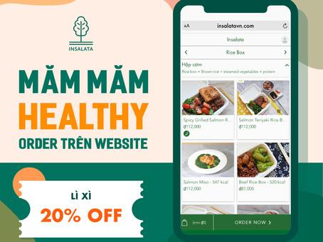 MĂM MĂM HEALTHY, ORDER TRÊN WEB - LÌ XÌ 20% 🎉👩🍳🧧