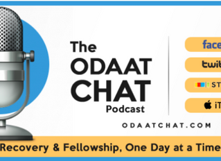 "The ODAAT Chat Podcast Episode 66 - Jesse Harless – Author of ""Smash Your Comfort Zone with Cold Sho"