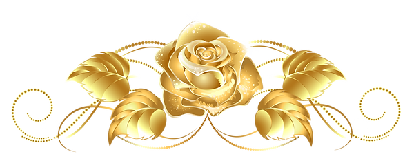 yellow-rose-clipart-gold-decoration-2.pn