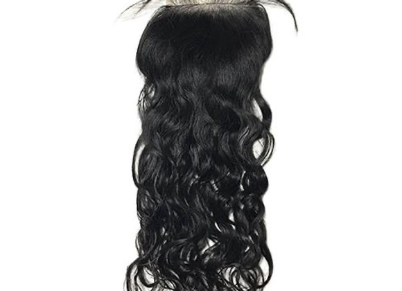 Flawless mink Water Wave  Lace closure