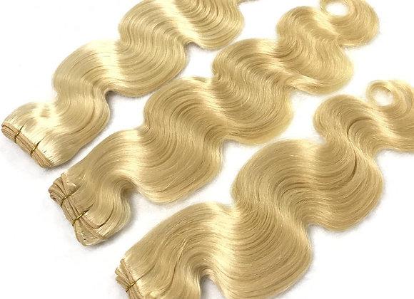 Russian Blonde Body Wave 3 Bundle Deal