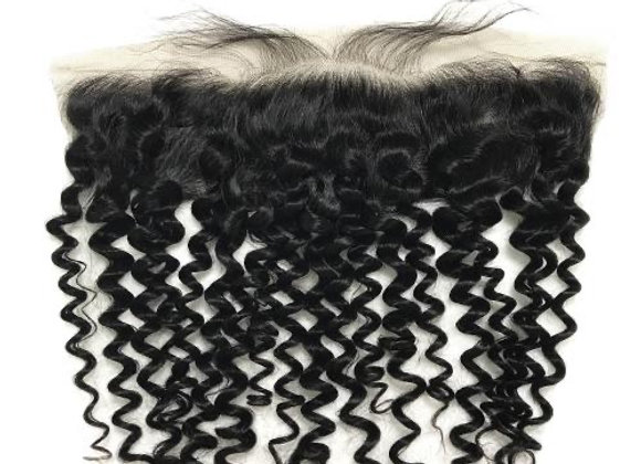 Flawless Mink italian curly Frontal