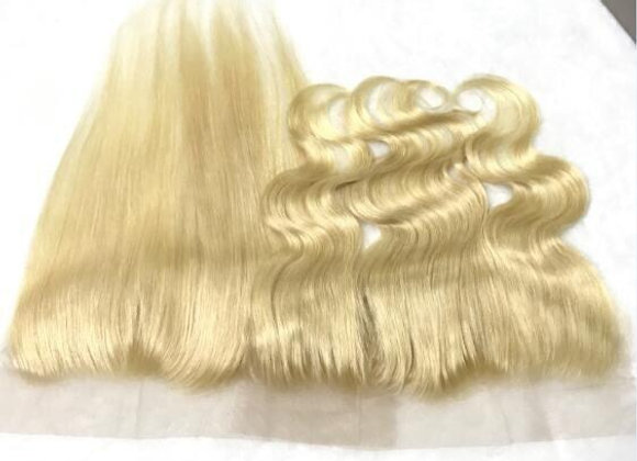 Flawless mink Russian Blonde Lace Frontal