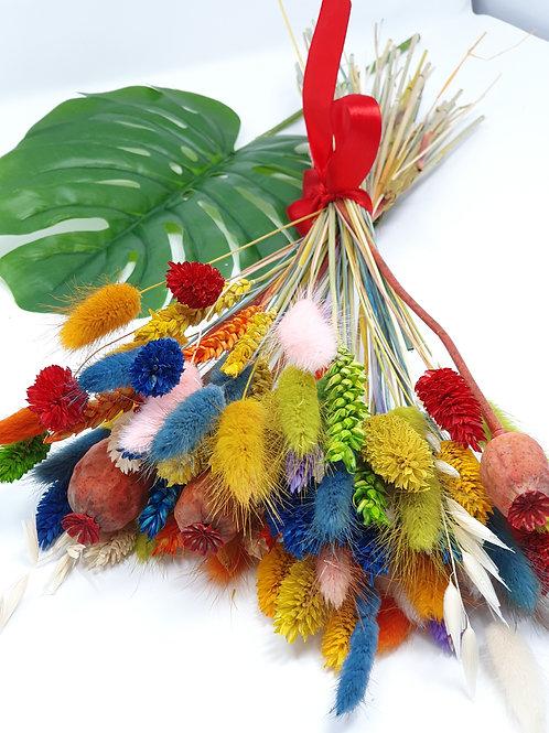 """""""Bright Harvest"""" dried flower bunch"""