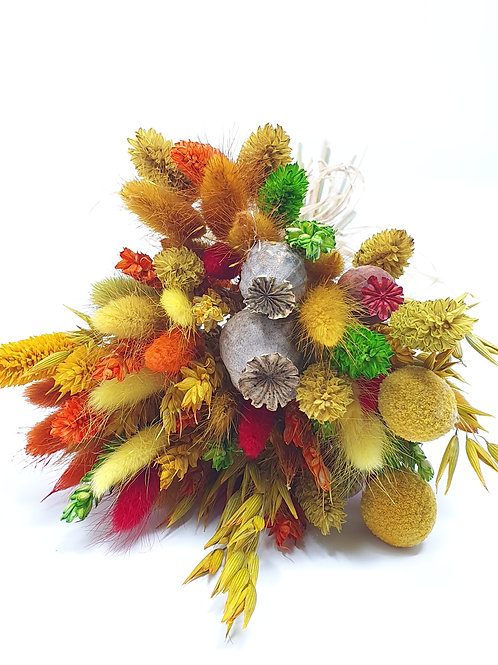 """Winter Glow"" Dried Flower Bunch"