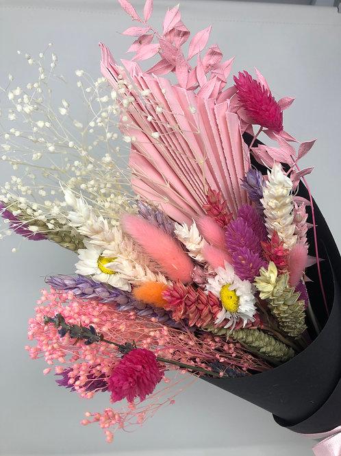 """NEW """"Flamingo"""" Dried Flower Bunch"""