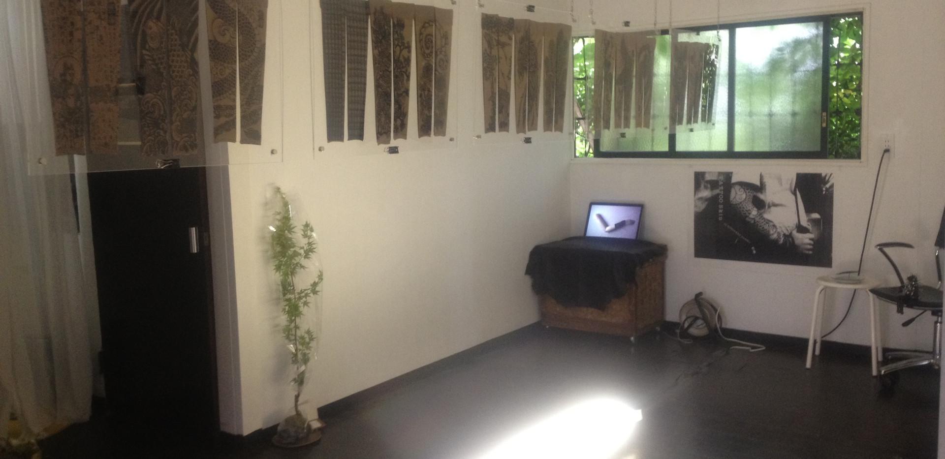 「TATTOO Skin」展 HADA-Ka Studio OPEN@HADA-Ka Studio(東京)2012年