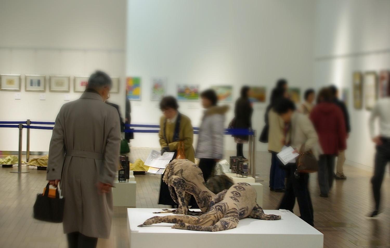 「黒川紀章キーワードライブ」@国立新美術館 (東京)2007年