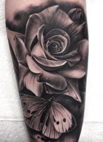 Rose&Schmetterling